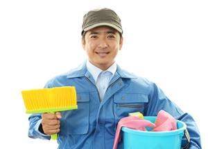 男性清掃員